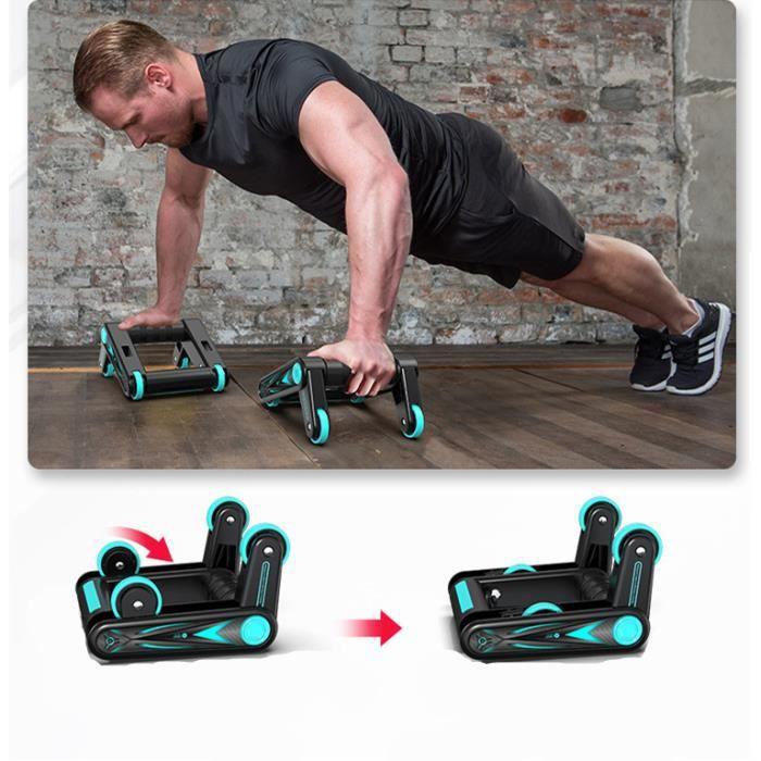 Équipement de fitness abdominal,Équipement d'exercice de fitness à domicile, équipement de push-up des muscles abdominaux
