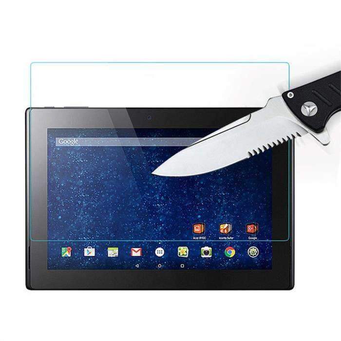 Protecteur d'écran de film en verre trempé universel 2.5D 9H pour 10 tablettes Pc 10.1Inch