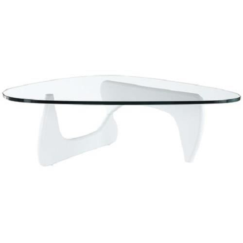 Table Basse Moderne et Design SMART Laqué Blanc