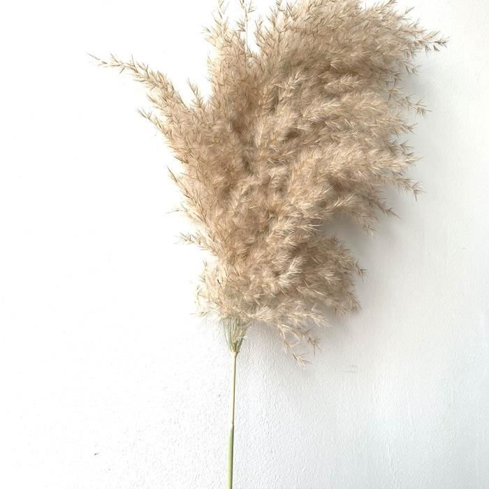 Décoration florale,Bouquet de fleurs pour mariage,couleur claire,herbe naturelle séchée,magnifique - Type 10 pcs light Color
