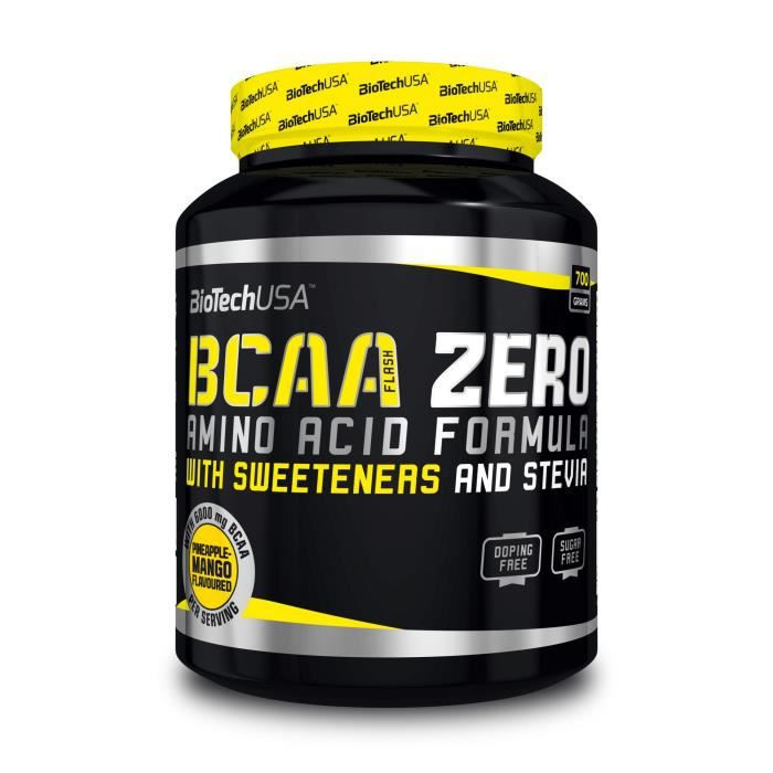 BCAA Zero 700g POMME Biotech USA - Green Apple
