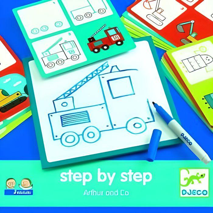 DJECO - Step by step Arthur &amp co ( DJ-8321 )