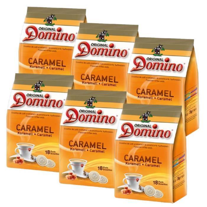 DOSETTE AROMATISSE CARAMEL 6 X 18 DOSETTES