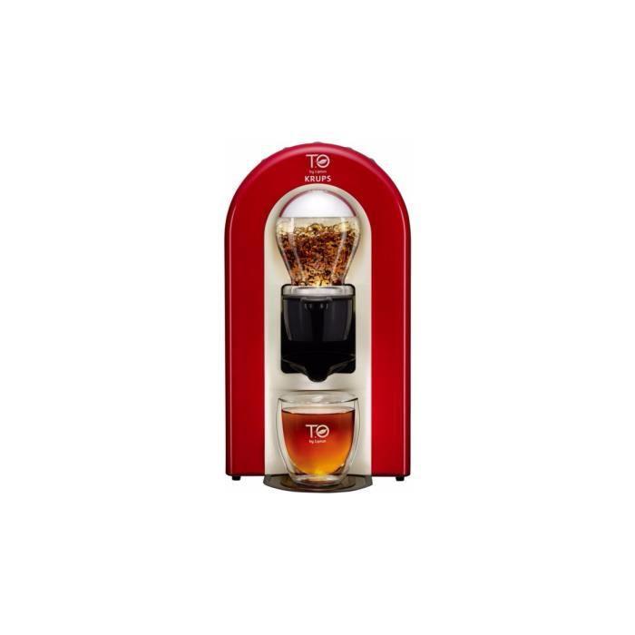 machine à thé KRUPS T.O By Lipton Rouge