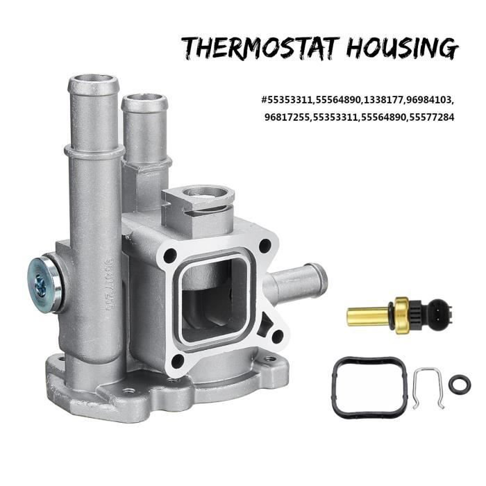 T4W 1x Thermostat Boîtier Couvercle Pour Opel Astra Zafira Signum Moka 96984103 96817255