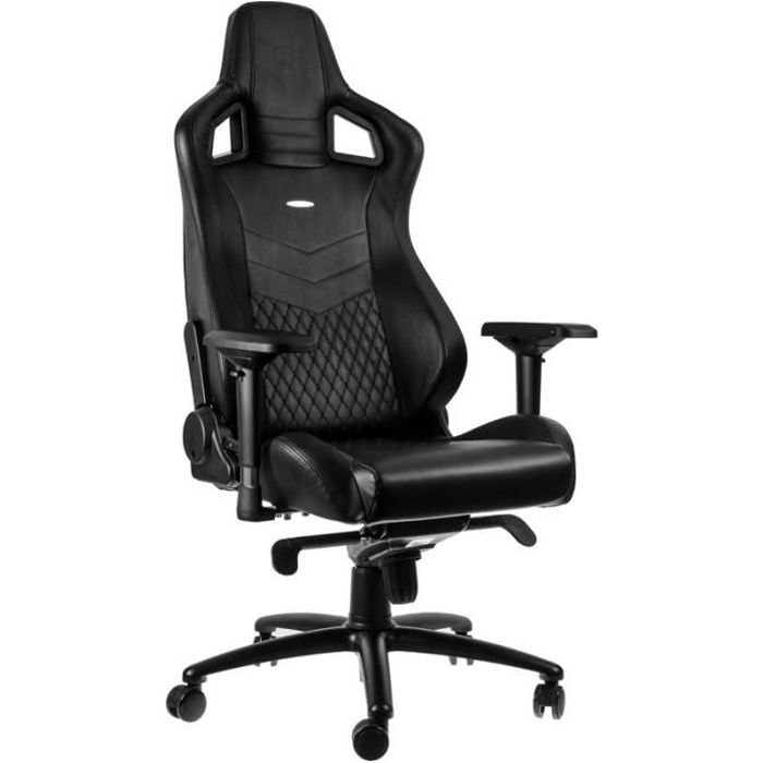 NOBLE CHAIRS Siège gamer Epic Series Real Leather - Noir