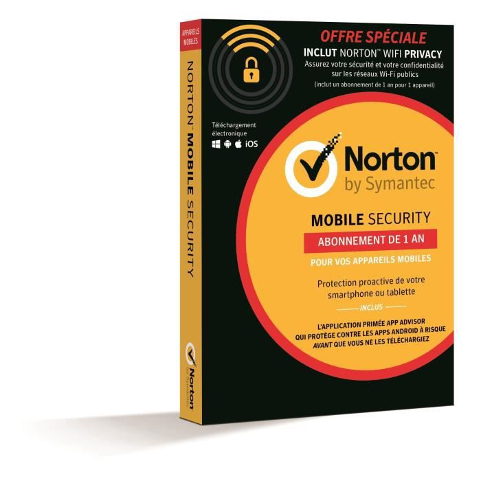 Norton Mobile + Wifi Privacy