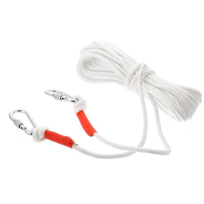 Corde auxiliaire de primaire de 1pc pour le fil a linge - tancarville - etendoir - sac de sechage materiel soin du linge