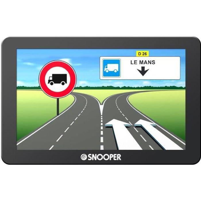 SNOOPER GPS Poids Lourds Truckmate 6600 Ecran 7- Mise à Jour à Vie