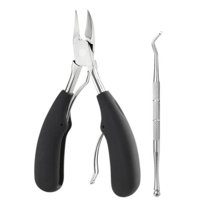 2 pcs En Acier Inoxydable Ongles Manucure Clipper Ciseaux Pince Outil De Suppression De Peau Morte Outil De Manucure