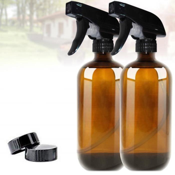 Bouteilles de pulvérisation en verre délicat Bouteille rechargeable pour le stockage de liquide (buse en LAVE-VITRE ELECTRIQUE