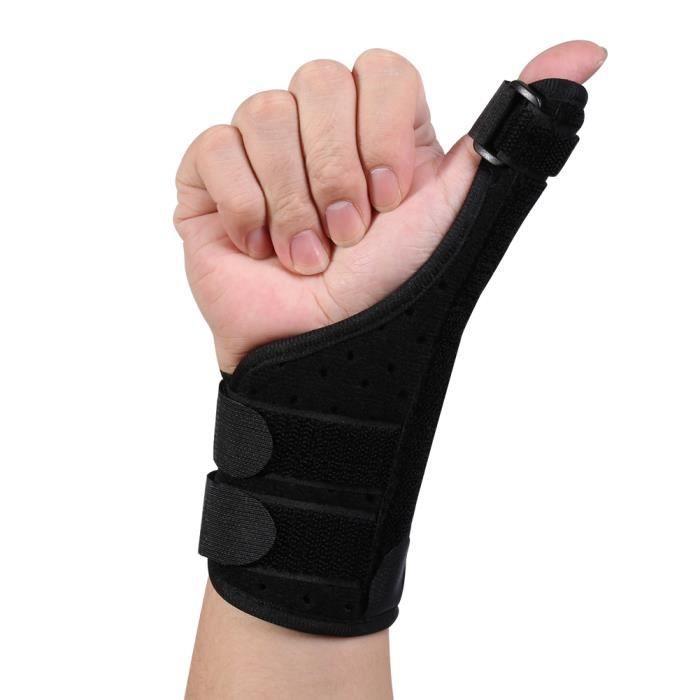 1 PC Orthèse de Pouce Médicale Réglable Élastique Stabilisateur Support de Doigt Poignet pour Arthrite Fracture Entorse ATTELLE HB01