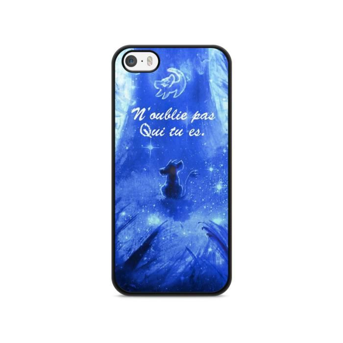 coque iphone 6 6s disney roi lion simba hakuna q