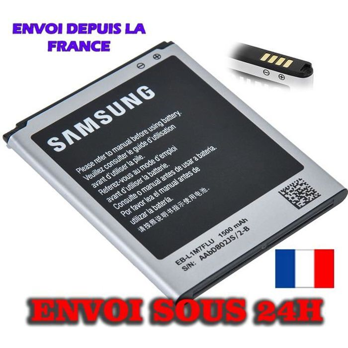 telephonie batteries telephone batterie samsung galaxy s mini i eb lmflu f  auc