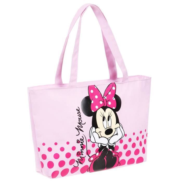 sac main cabas enfant fille minnie mouse ro achat
