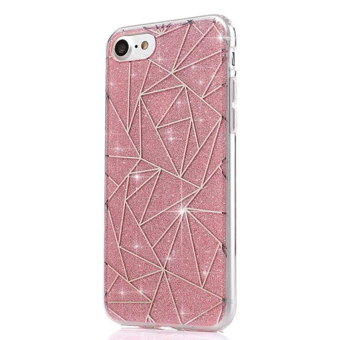 coque silicone iphone 6 plus paillette