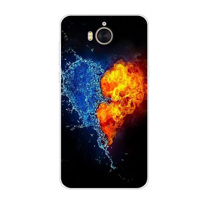 Coque pour Huawei Y6 2017 MYA-L41 Étui de télépho