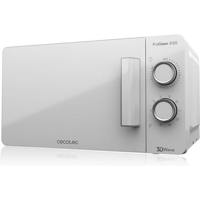MICRO-ONDES Four à micro-ondes blanc avec revêtement Grill et