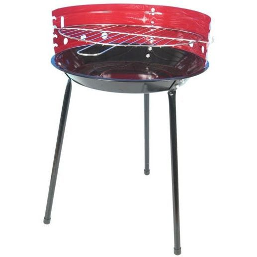 barbecue rond 36cm rouge achat vente barbecue barbecue. Black Bedroom Furniture Sets. Home Design Ideas