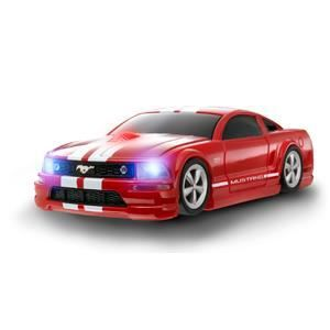 ford mustang gt rouge bande blanche prix pas cher cdiscount. Black Bedroom Furniture Sets. Home Design Ideas