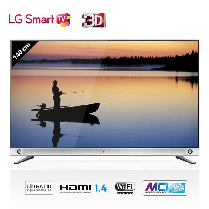 lg 55la965v smart tv 4k 3d 139 cm t l viseur led avis et prix pas cher cdiscount. Black Bedroom Furniture Sets. Home Design Ideas