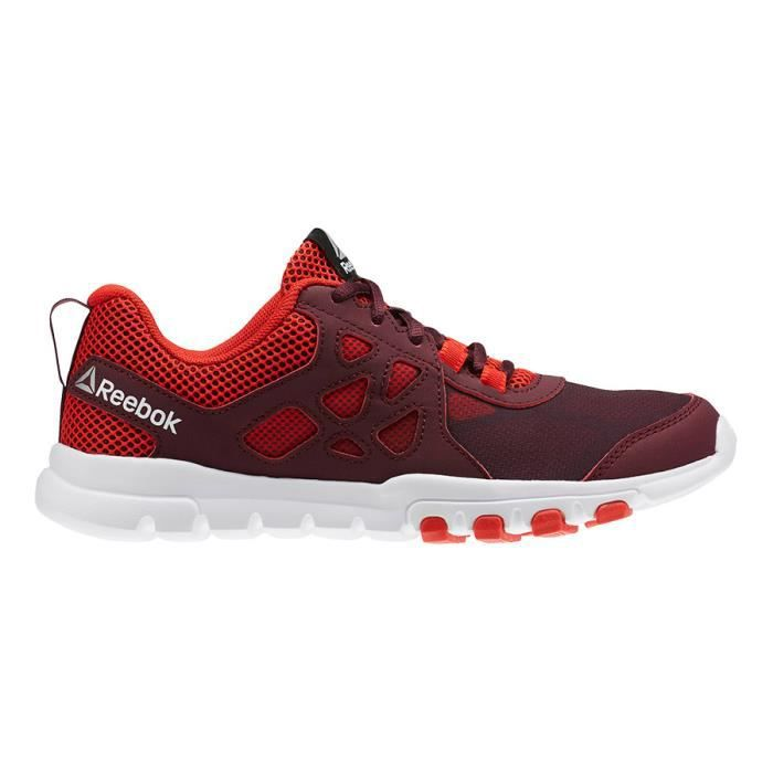 bc07afe080e83 Chaussures Reebok Sublite Train 4.0 rouge femme 262066