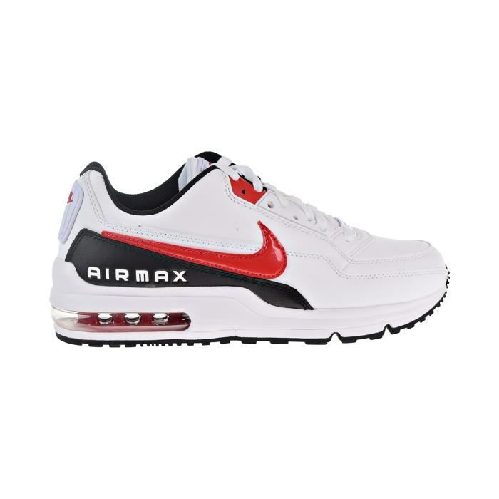 size 7 latest discount super cheap NIKE Air Max LTD 3 Chaussures Blanc - Université Rouge - noir ...