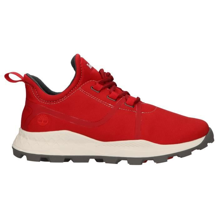chaussure timberland homme rouge