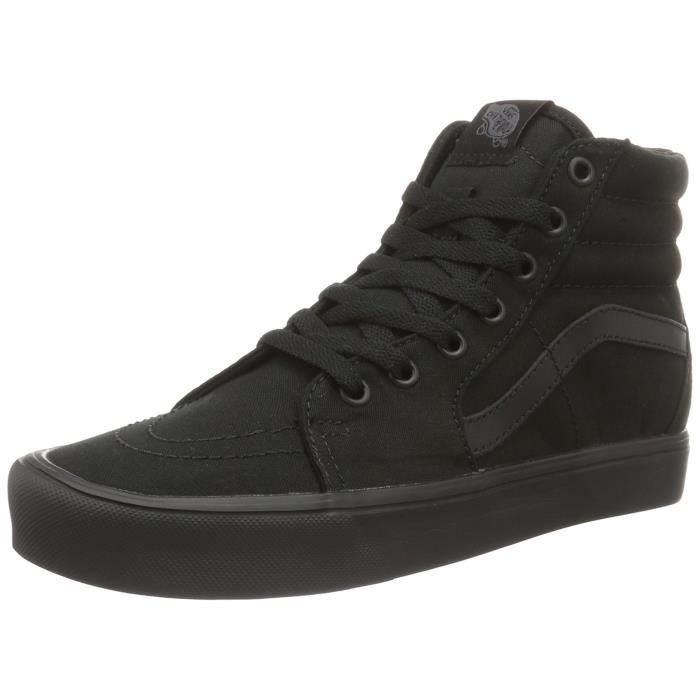 chaussure vans noir montante
