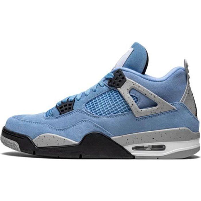Basket Air Jordan 4 Retro University Blue CT8527-400 Pour Hommes ...
