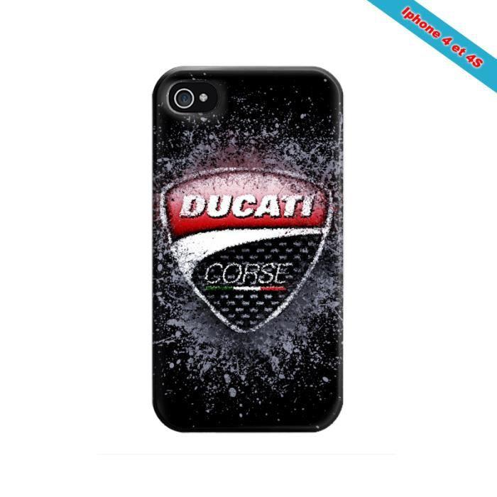 Coque iphone 4/4S Fan de Ducati Corse en peinture - Achat coque ...