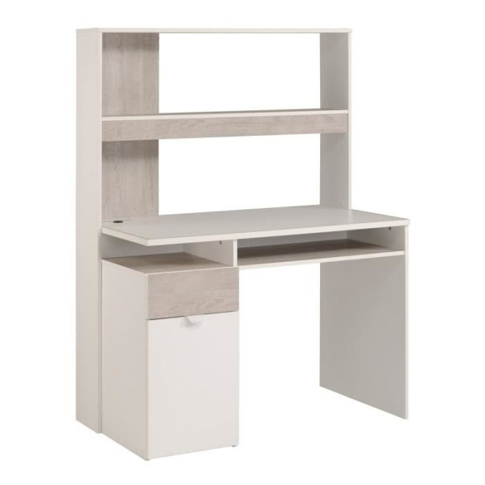 paris prix bureau enfant nybro 152cm blanc gris loft achat vente bureau paris prix. Black Bedroom Furniture Sets. Home Design Ideas