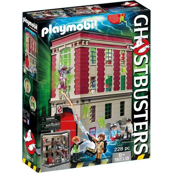 Photo de playmobil-9219-ghostbusters-edition-limitee-quartier-general-ghostbusters
