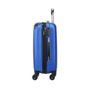 5806 Valise Cabine//Moyen//Grande avec ou sans Vanity Bleu , Vanity 15 Pouces Marque Fran/çaise