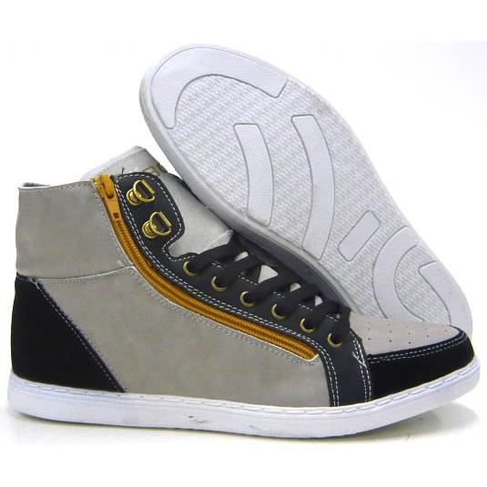 Hommes chaussures Sneaker chaussures de loisirs Skater Sneaker gris 40