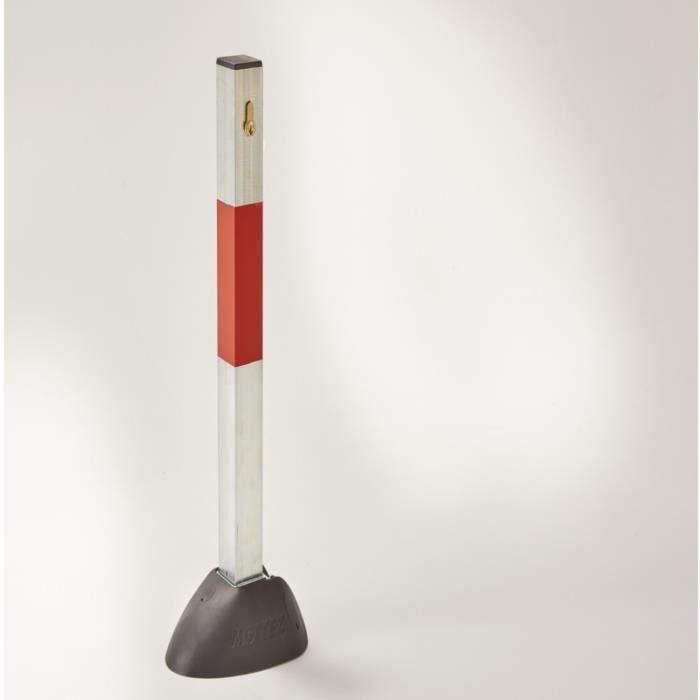 MOTTEZ Poteau bloc parking Design 60 cm