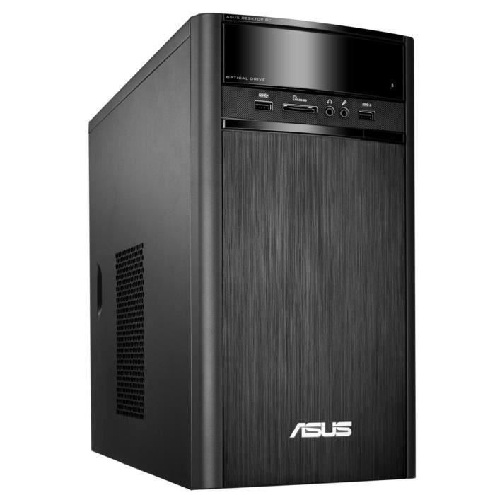 ASUS PC de Bureau K31CLG-FR021T - 4Go de RAM - Windows 10 - Intel® Core™ i3-5005U - NVIDIA GeForce 920MX - Disque Dur 1To+128Go SSD