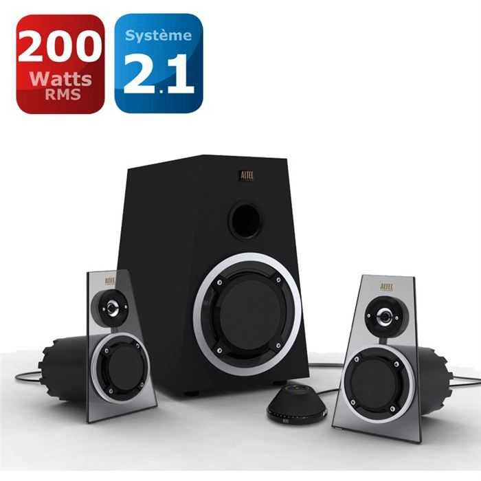 altec lansing enceintes 2 1 expressionist ultra prix pas. Black Bedroom Furniture Sets. Home Design Ideas