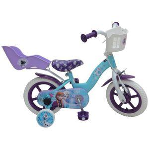 VÉLO ENFANT Vélo enfant 12' Reine des Neiges monovitesse cadre