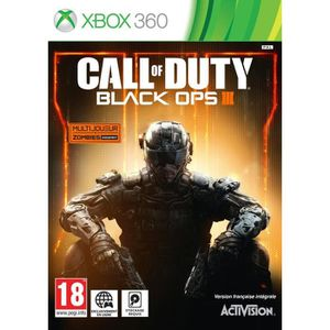 JEU XBOX 360 Call of Duty Black Ops III Jeu Xbox 360