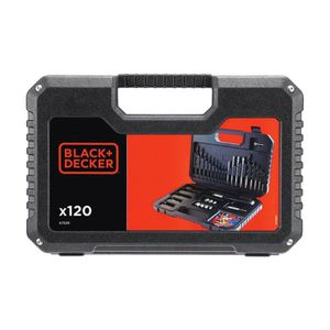 FORET - MECHE BLACK & DECKER A7220-XJ Coffret d'outils de perçag