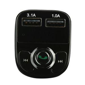 TRANSMETTEUR FM Chargeur de voiture mains libres Bluetooth transme