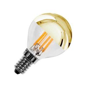 AMPOULE - LED Ampoule LED E14 Dimmable Filament Gold Reflect G45