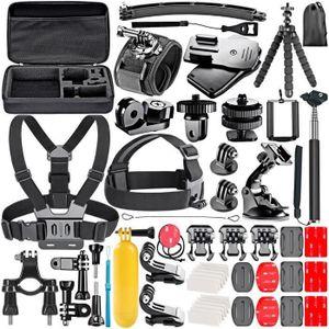 PACK ACCESSOIRES PHOTO Rncyn 53-en-1 Sport Kit d'Accessoires pour GoPro H