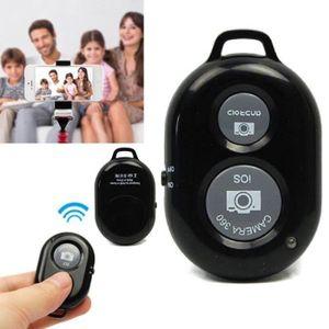 TÉLÉCOMMANDE PHOTO Télécommande Obturateur Bluetooth pour Selfie iPho