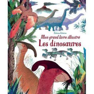 DOCUMENTAIRE ENFANT Livre - mon grand livre illustré ; les dinosaures