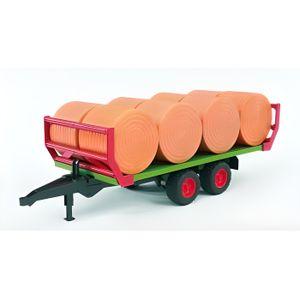 VOITURE - CAMION BRUDER - 2220 - Remorque de Transport De Paille +
