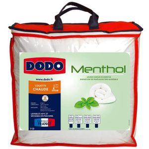 COUETTE DODO Couette Menthol - 100% polyester traité - 220