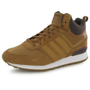 f5802698fc BASKET Adidas 10xt Wtr Mid marron, baskets mode homme