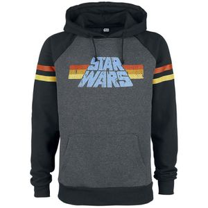 SWEATSHIRT Star Wars 77 Sweat-shirt à capuche gris foncé chin